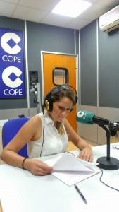 Esther Lara en Cadena Cope
