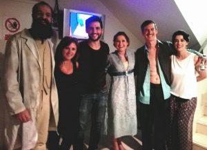 Esther Lara, Steven Lance, Katy Navarro, Fran Perea, Ángel Velasco y Rocío Vidal