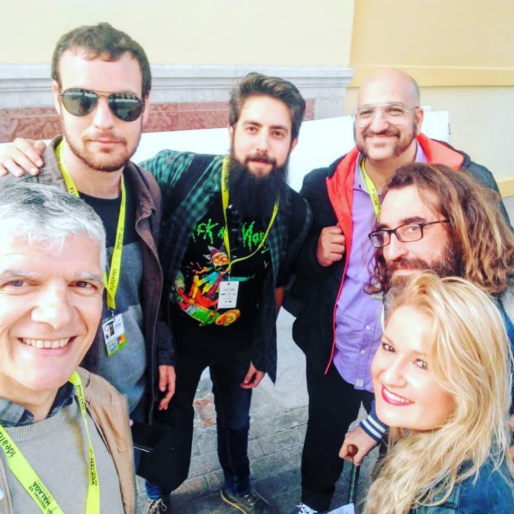 Esther Lara en la 22 Edición del Festival de Cine en Español de Málaga