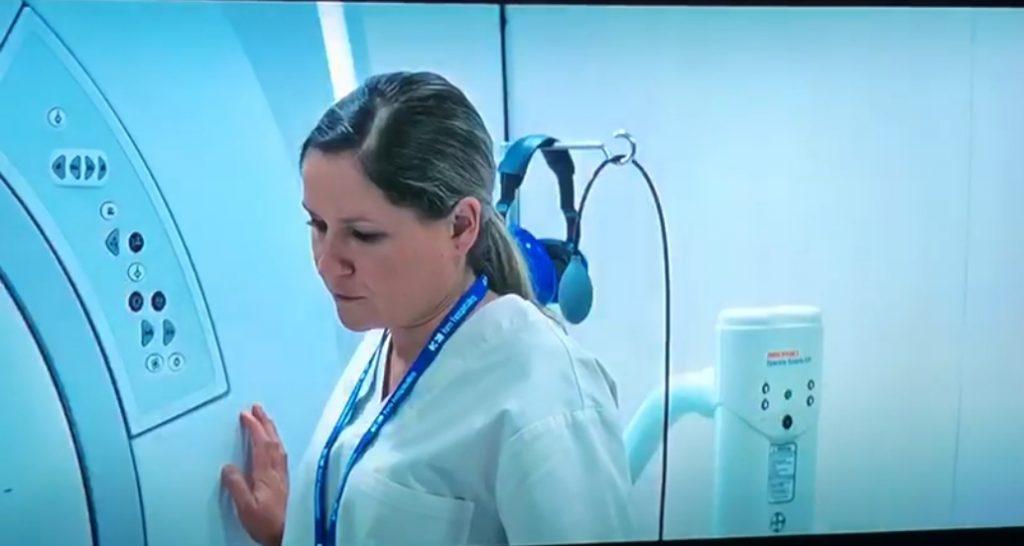"""Esther Lara en la serie """"Gigantes"""" de Movistar+, dirigida por Enrique Urbizu"""