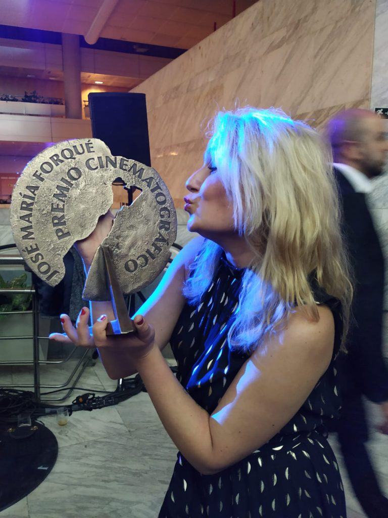Esther Lara Premios Forqué